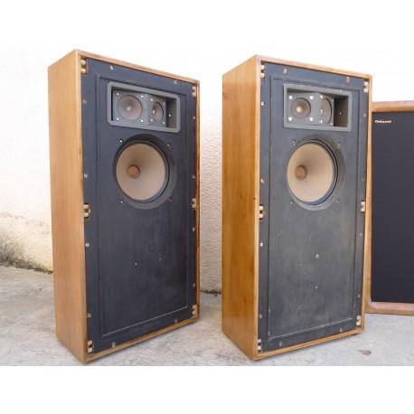 Enceintes vintage Cabasse CA-4