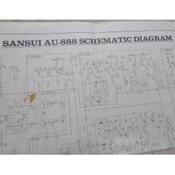 Schéma Sansui AU-888