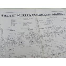 Schéma Sansui AU-777A