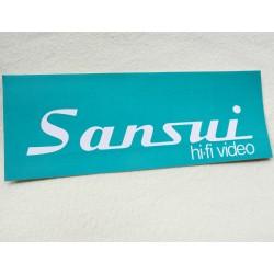 Sticker vintage Sansui Hi-Fi Video