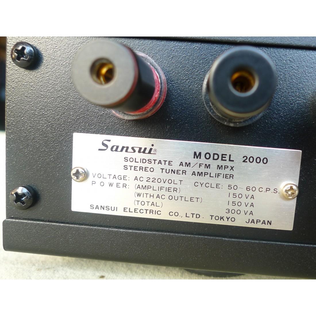 ampli de puissance 4 canaux ssp diy sur base de receivers sansui 2000. Black Bedroom Furniture Sets. Home Design Ideas