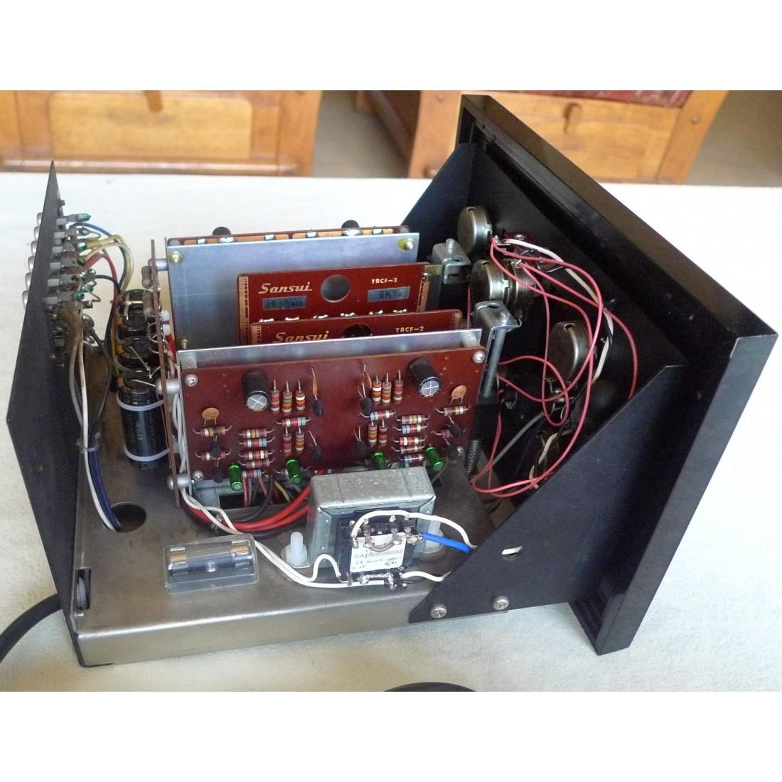 filtre actif 3 voies vintage sansui cd 3 analogique hi fi cartes. Black Bedroom Furniture Sets. Home Design Ideas