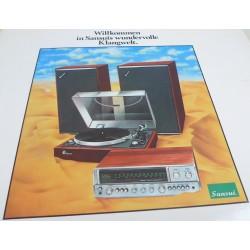 Disque vinyle test 33T LP Sansui 1972