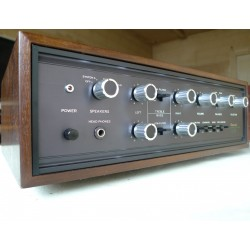 Ampli vintage Sansui AU-555 SSP Woodcase